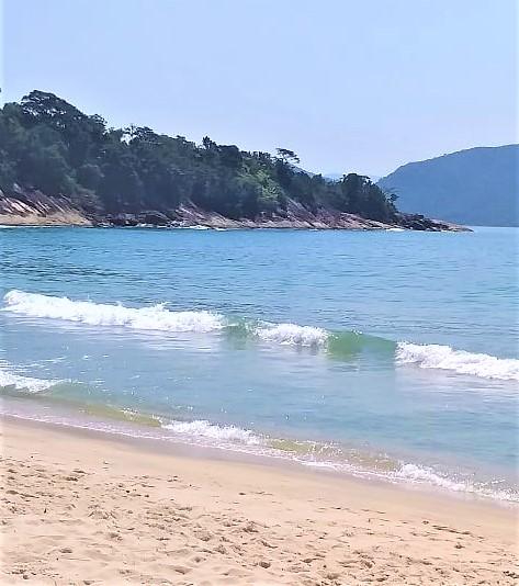 Praia de Caçandoca, paraíso em Ubatuba