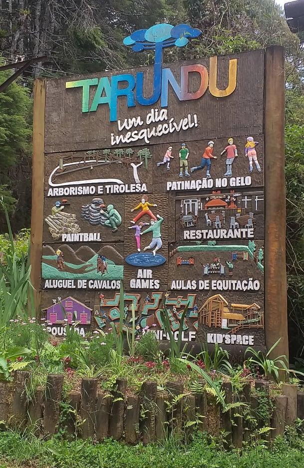 Tarundu, parque eco radical da Mantiqueira.