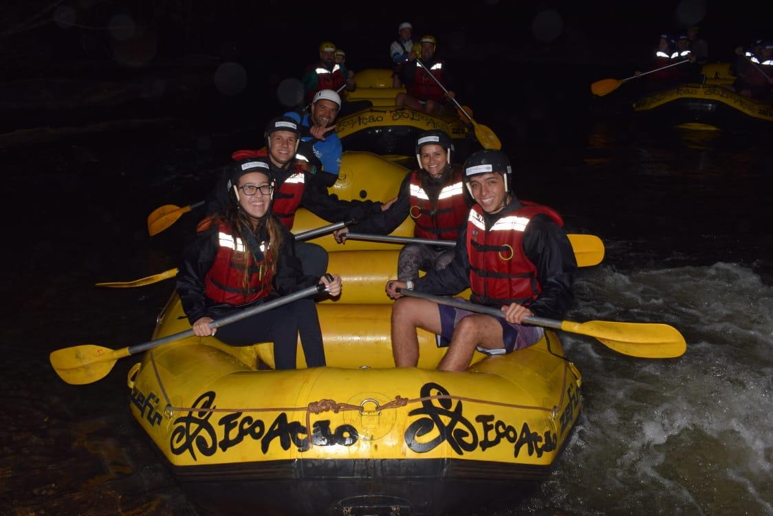 Brotas dá inicio a sua temporada de rafting noturno