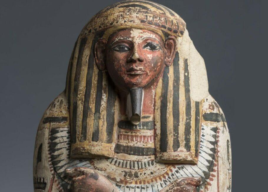 Exposição gratuita sobre o Egito Antigo
