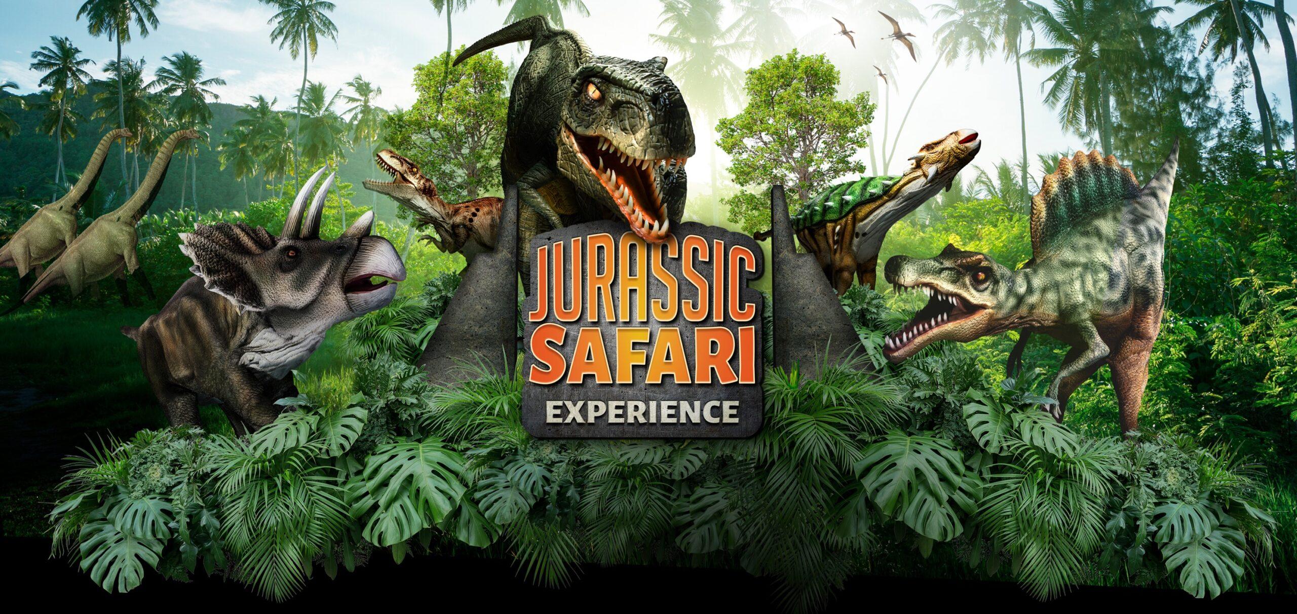 Jurassic Safari só até esse fim de semana em São Paulo