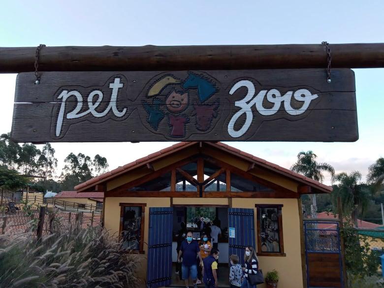 Pet Zoo é uma ótima opção para passear com as crianças